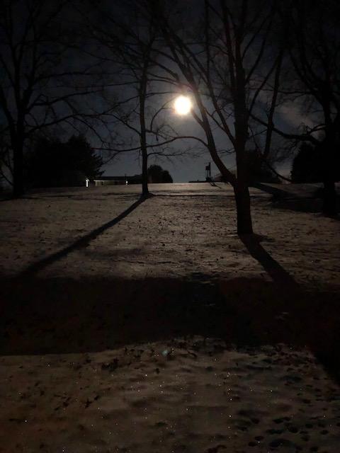 moon morning